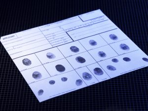 Fingerprint record